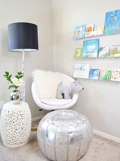 clear bookshelves diy