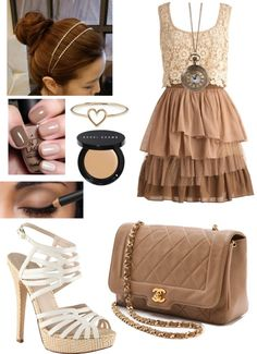 """Brown"" by kmkazdunich ❤ liked on Polyvore"