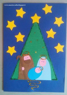 Hello friends, how are you? Christmas Crafts For Kids To Make, Preschool Christmas, Christmas Activities, Xmas Crafts, Christmas Projects, Christmas Mood, Kids Christmas, Jesus Crafts, Beautiful Christmas Cards