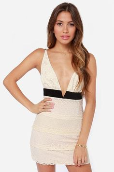 It's impossible to resist the urge to get on the dance floor with the Can't Fight It Backless Cre...