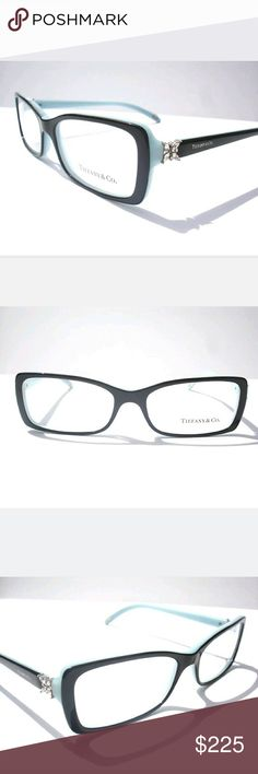 Tiffany and Co Eyeglasses New and authentic  Tiffany and Co Eyeglasses  Black and teal frame  Size 55mm Includes Tiffany case Tiffany & Co. Accessories Glasses
