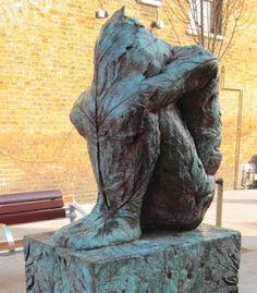 'Leaf Memory' by Stephen Duncan, 2001 Sculpture Art, Garden Sculpture, Green Man, East London, Woodland, Statue, Outdoor Decor, Beauty, Beauty Illustration