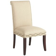 Angela Deluxe Dining Chair - Flax | Pier 1 Imports