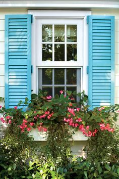 Hardworking Windows - Best Exterior Makeover - Southernliving. New double-hung windows can be raised to let in sea breezes