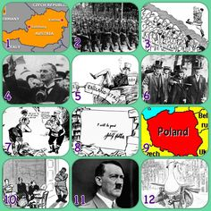 Causes of the Second World War printable learning grid | jivespin