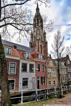 One day at Delft - Photo Diary (video incl.) - World Wanderista Holland Netherlands, Amsterdam Netherlands, Day Trips From Amsterdam, Van Gogh Museum, Photo Diary, Best Cities, Delft, Travel Photos, Travel Photography