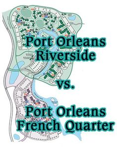 Port Orleans Riverside vs. Port Orleans French Quarter - Overviews & comparison