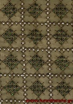 Beaded Embroidery, Embroidery Designs, Cross Stitch, Crosses, Disney, Gold, Bead Embroidery Jewelry, Embroidery Jewelry, Bullion Embroidery