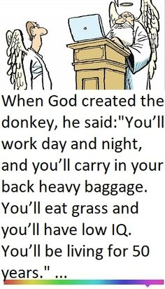 Humor Discover Mans Bargain With God - Joke Funny Long Jokes, Clean Funny Jokes, Crazy Jokes, Funny Jokes For Adults, Funny Puns, Hilarious, Puns Jokes, Jokes Quotes, Funny Quotes