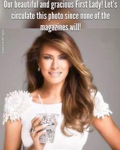 Donald And Melania Trump, First Lady Melania Trump, Donald Trump, American First Ladies, American Pride, American Women, American History, Native American, First Lady Of America
