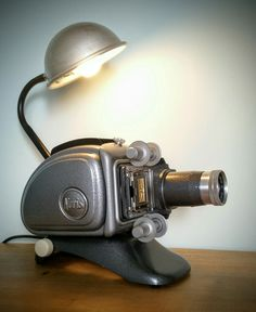 AMC77 Projector lamp (steampunk industrial)