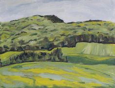 http://francoisfournierart.com/    This original plein air oil painting present a dandelion field and mountain during spring season . This is taking place in the appalachians of Quebec, Canada.Art Original Plein Air Appalachian Landscepe by Fournierpainter, $450.00