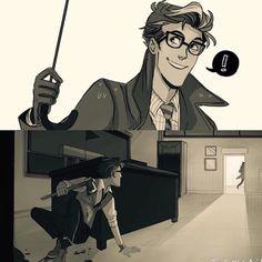 More Prof. #doodles #ocs