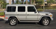 2003 Mercedes G 500 Can Offer The G-Wagen Experience For A Reasonable Sum #Auction #Galleries