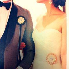 マリッジリング以外にもペアアイテムが欲しい♡花嫁さんと花婿さんのお揃いアイテム5つ*にて紹介している画像