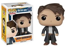 Funko POP! Television Doctor Who Jack Harkness Vinyl Action Figure 297