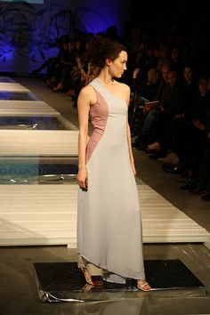 Look #7 Fashion Week, One Shoulder, Spring Summer, Formal Dresses, Formal Gowns, Formal Evening Gowns, Formal Dress