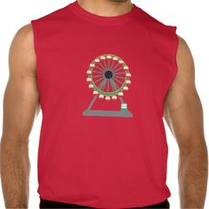Big Wheel Sleeveless Shirt Tank Tops