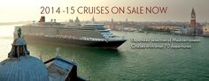 Cunard world cruises / luxury liners starting at $999 pp