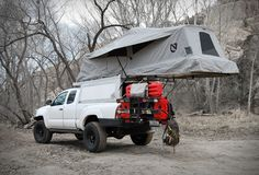 RV And Camping. Great Ideas To Think About Before Your Camping Trip. For many, camping provides a relaxing way to reconnect with the natural world. If camping is something that you want to do, then you need to have some idea Truck Canopy Camping, Truck Bed Tent, Pickup Camping, Camping Hammock, Kayak Camping, Vw T5, Volkswagen, Overland Tacoma, Overland Truck