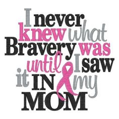 My mommy is brave breast cancer shirt by AddiesApplique on Etsy, $15.00