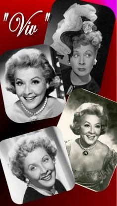 "Vivian Vance was known for her role as ""Ethel Mertz"" in the ""I Love Lucy"" show."