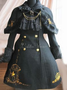 Lace Market is the largest online marketplace for EGL (Elegant Gothic Lolita) Fashion. Sell and buy Lolita dresses, skirts, accessories and more with thousands of users around the world! Old Fashion Dresses, Fashion Outfits, Mode Lolita, Mode Costume, Gothic Lolita Fashion, Jeans Denim, Japanese Street Fashion, Cosplay Outfits, Lolita Dress