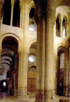 Romanesque Architecture, Church Architecture, Sainte Foy De Conques, Kirchen, Castle, Age, Roman Art, 12th Century, Palace