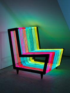 retro luminous chair <3