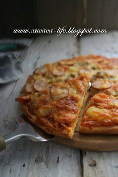Butter . Flour & Me 爱的心灵之约: 父亲节 - 爱心皮萨 (Pizza)