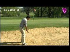 Sortie de  bunker : la leçon du pro au Golf de La Valdaine