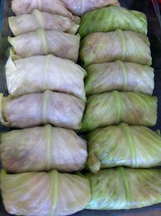 This is a recipe I have been meaning to try for quite some time now. I have neve… This is a recipe I have been meaning to try for quite some time now. I have never made cabbage rolls before…because my grandma always made… Best Cabbage Rolls Recipe, Cabbage Rolls Polish, Easy Cabbage Rolls, Cabbage Recipes, Steamed Cabbage, Pork And Cabbage, Stuff Cabbage, Crockpot Steak Recipes, Beef Recipes
