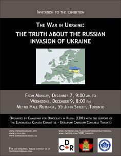 Ukraine Exhibition Flyer