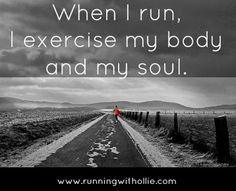 When I Run, I Exercise My Body and My Soul (and the JoeyBra Giveaway Winner) Running Inspiration, Fitness Inspiration, Runners Guide, Benefits Of Running, Girl Running, Trail Running, Brunch, Running Quotes, Pep Talks
