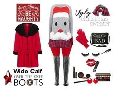 """""""Be Naughty - Plus Size"""" by plussizefashionista ❤ liked on Polyvore featuring Borger Shoes, Torrid, J.Crew, Thierry Mugler, Peter Luft, INIKA, Manic Panic, Smashbox, Marni and plussize"""