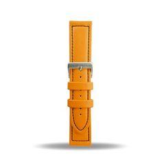 22mm Bracelet Lorica Montre Etanche Plongée Orange  BB1026S