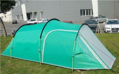 Tents Family Party Travelling Tent 3-4 Persons Mountain Tent One Bedroom & One Living Room