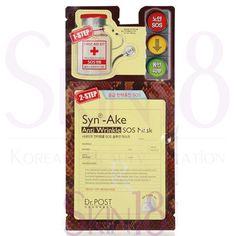 Mediheal Mediental 2-steps Syn-Ake Anti-Wrinkle SOS Solution Mask