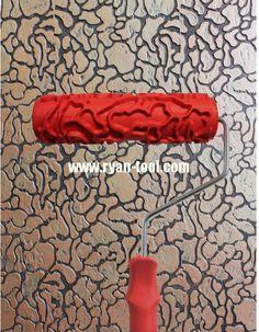 7 Inch Wood Grain Paint Roller 180mm Woodgrain