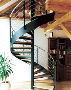 Circular Staircase Design for Limited Space