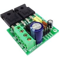 This is a discrete Half-bridge driver based on gate driver IC and low impedance high current N channel MOSFETS. The is a high voltage, hi Arduino Projects, Electronics Projects, Electronic Circuit Design, Voltage Divider, Solar Panel Charger, Simple Circuit, Electrical Diagram, Tesla Coil, Electronic Schematics