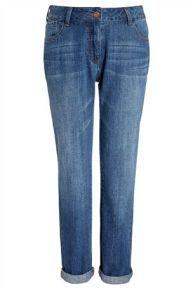 Soft Denim Cropped Jeans