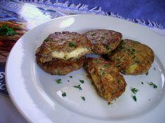 Da Panela para o Coração : Hambúrgueres recheados com queijo