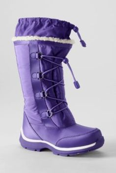 Our ' snowflake' winter boots for girls are so called because of the pretty tracks they make in the snow (thanks to our cool, slip-resistant snowflake tread on the sole). Description from misterx-price.com. I searched for this on bing.com/images