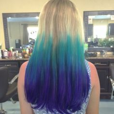 Cool summer hair. By Christie Knolmayer
