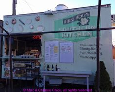 Field Trip! Miss Kate's Southern Kitchen Food Truck in Portland - Mac & Cheese Chick