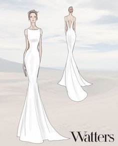 Say Hello to the New Wedding Dresses for Your 2019 Wedding Source by theheredera dress drawing Dress Design Sketches, Fashion Design Sketchbook, Fashion Design Drawings, Fashion Sketches, Dress Designs, Wedding Dress Trends, New Wedding Dresses, Designer Wedding Dresses, Wedding Dress Drawings