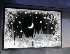 новогоднее оформление витрин фото - Поиск в Google