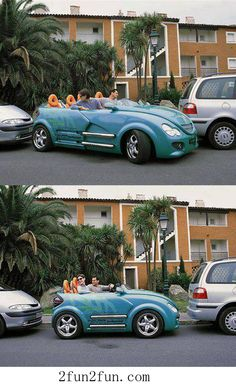 You need a small car