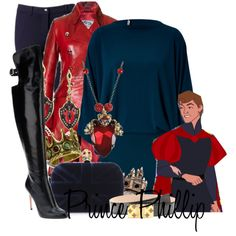 """Disney Style : Prince Phillip"" by missm26 on Polyvore"